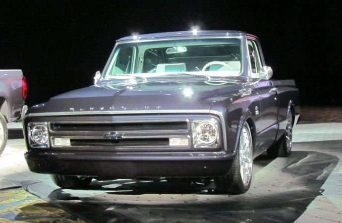 SEMA Seen: Centennial-celebration 1967 Chevrolet C-10 pickup truck