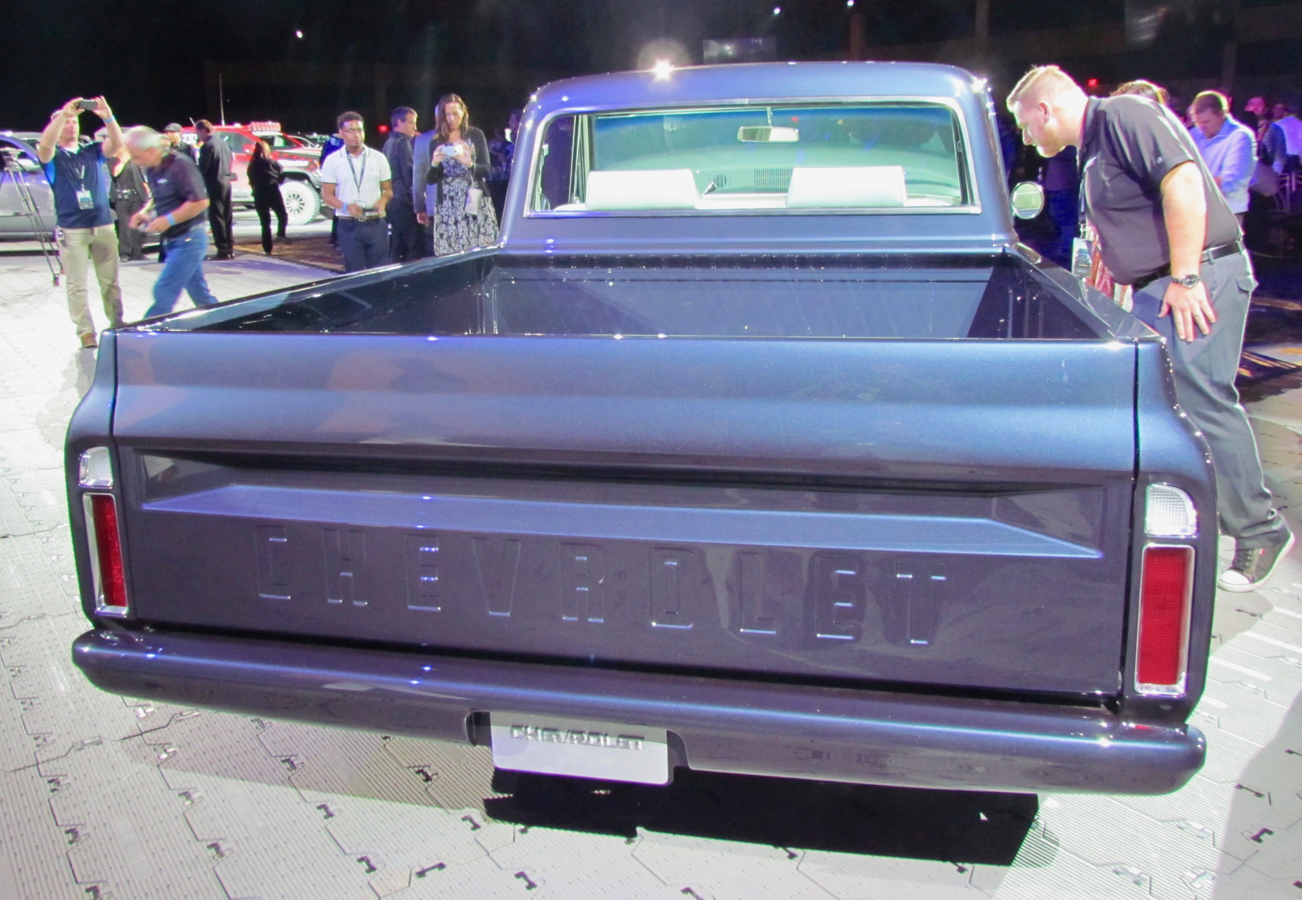 1967 Chevrolet C-10 Pickup Bed