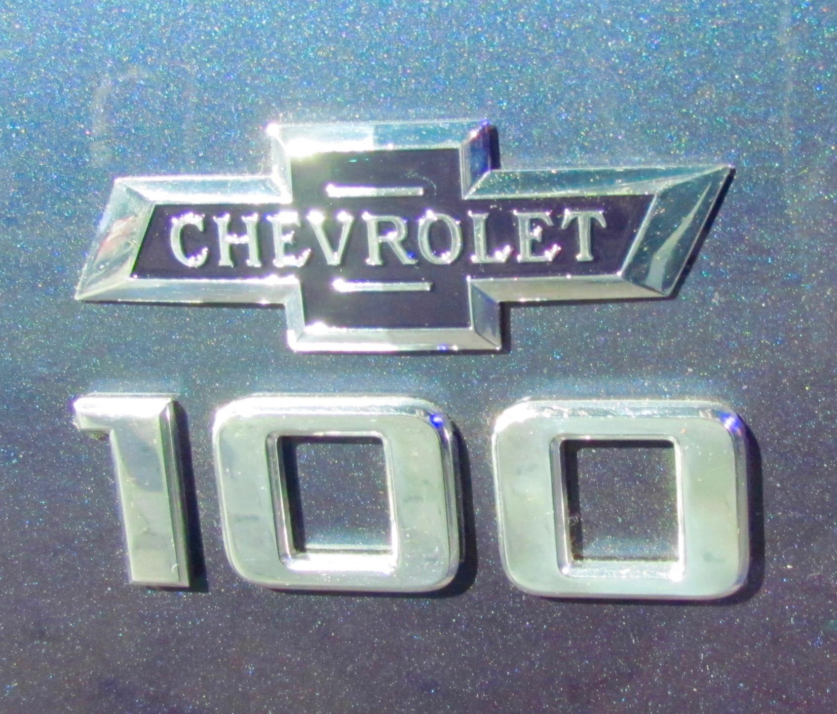 Chevrolet Centennial Emblem