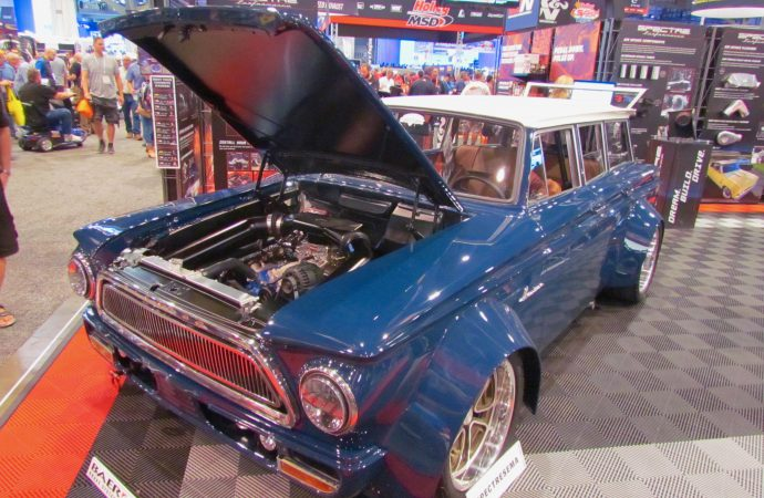 SEMA Seen: 1963 AMC Rambler American 440 station wagon