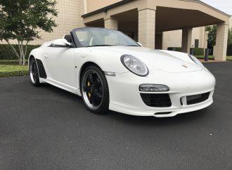 Barrett-Jackson Countdown: 2011 Porsche Speedster