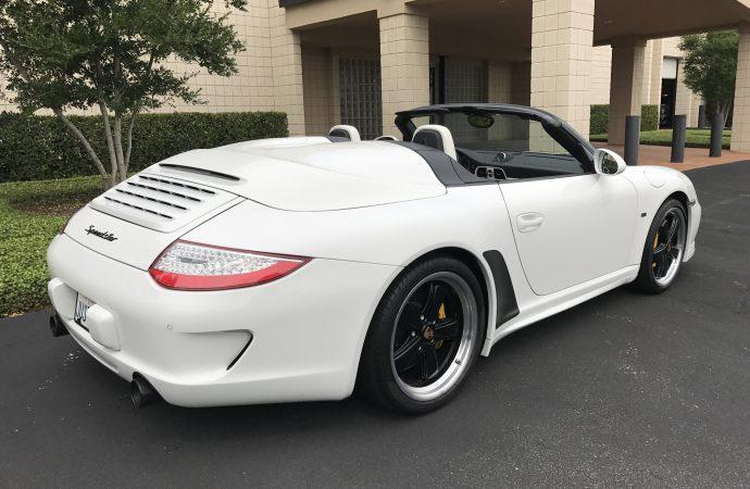, Barrett-Jackson Countdown: 2011 Porsche Speedster, ClassicCars.com Journal