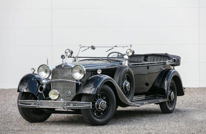 Million-dollar SLs top Artcurial's Mercedes-Benz France auction