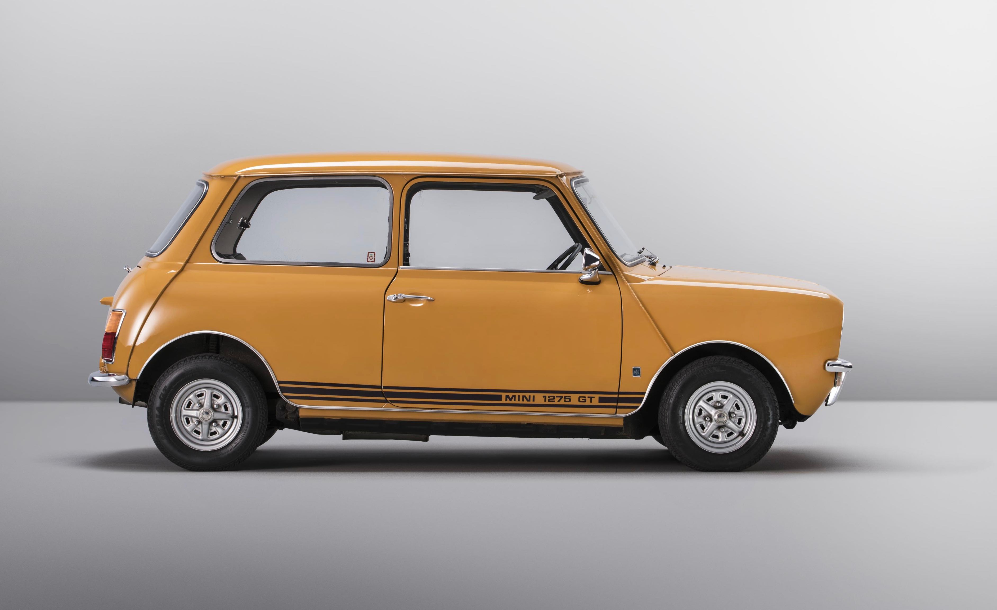 Newest Mini Pays Homage To 1275 Gt Of The Late 60s Classiccars