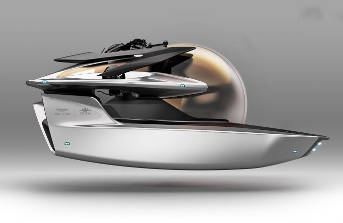 Will future James Bond dive an Aston Martin submarine?