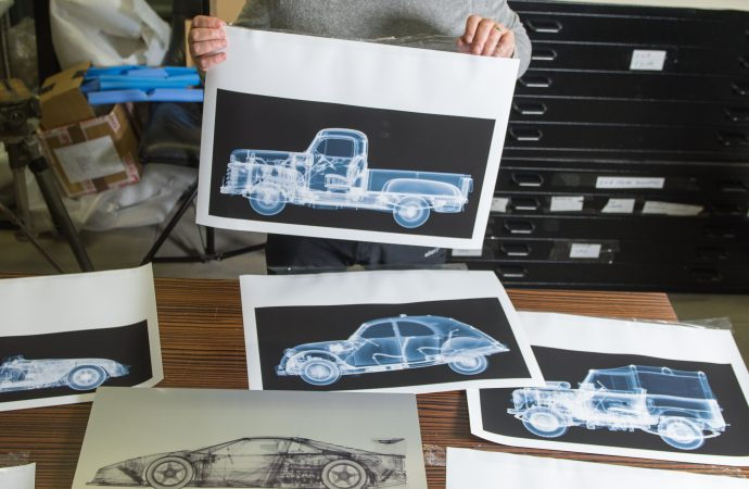 Photographer X-rays classic vehicles to reveal 'integral beauty' beneath the sheetmetal