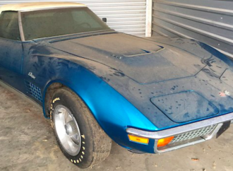 This 1972 Chevy Corvette has less than a thousand miles
