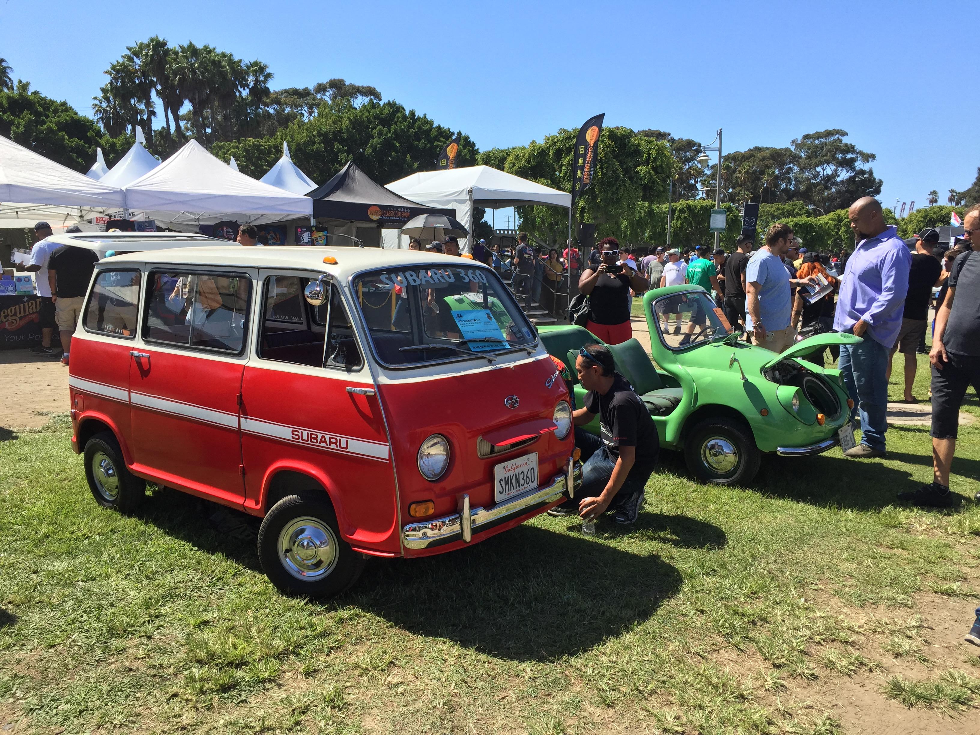 Subaru Bus And Beach ClassicCarscom Journal - Subaru car show california
