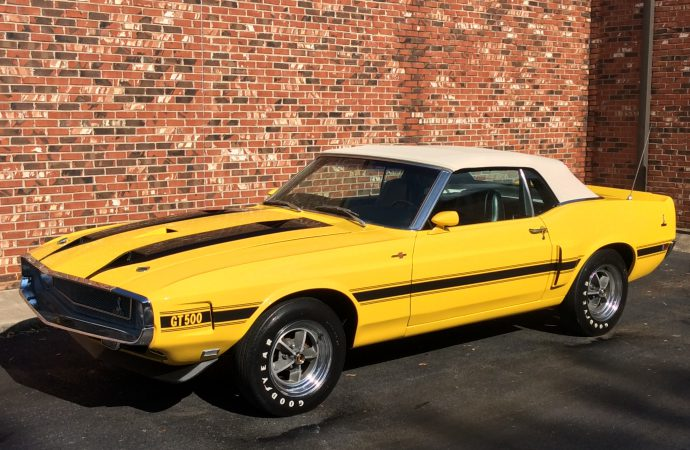 Barrett-Jackson Countdown: 1970 Shelby GT500 convertible