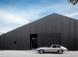 Photographers finding collector cars ideal props for showcasing architecture
