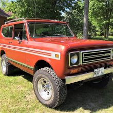 Trail-ready 1979 International Scout II