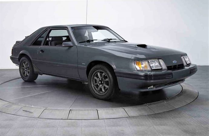 Rare, low-mileage '86 Ford Mustang SVO