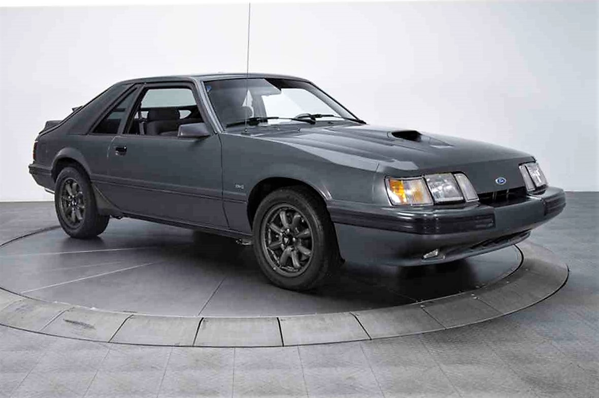 Rare low mileage 86 ford mustang svo