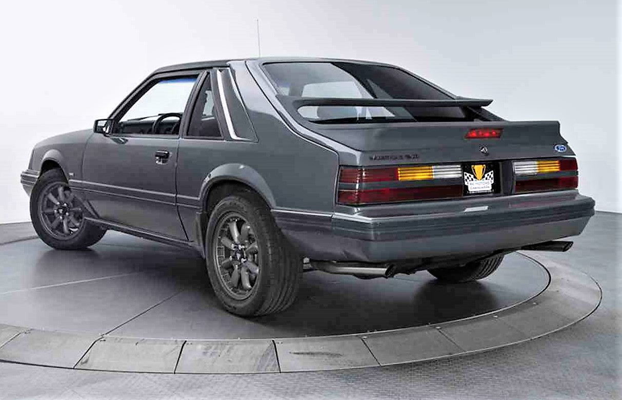 Rare, low-mileage \'86 Ford Mustang SVO - ClassicCars.com Journal