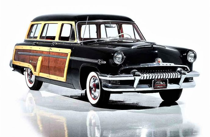 Termite-proof 1954 Mercury woody wagon