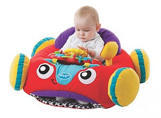 Start them young! Here's baby's first car