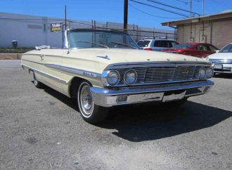 1964 Ford Galaxie 500 convertible ready for 'Cruising in style'