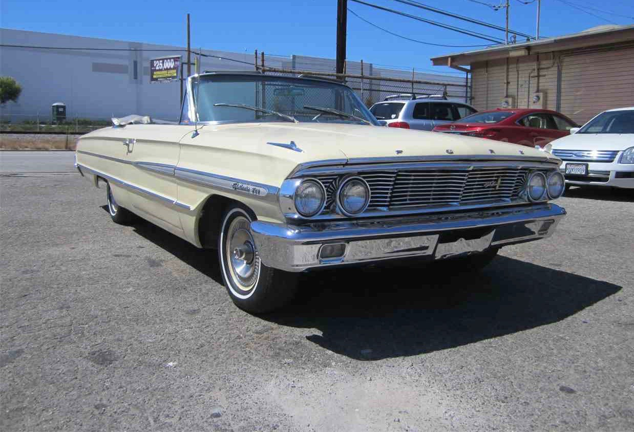 1964 ford galaxie 500 convertible ready for cruising in style classiccars. Black Bedroom Furniture Sets. Home Design Ideas