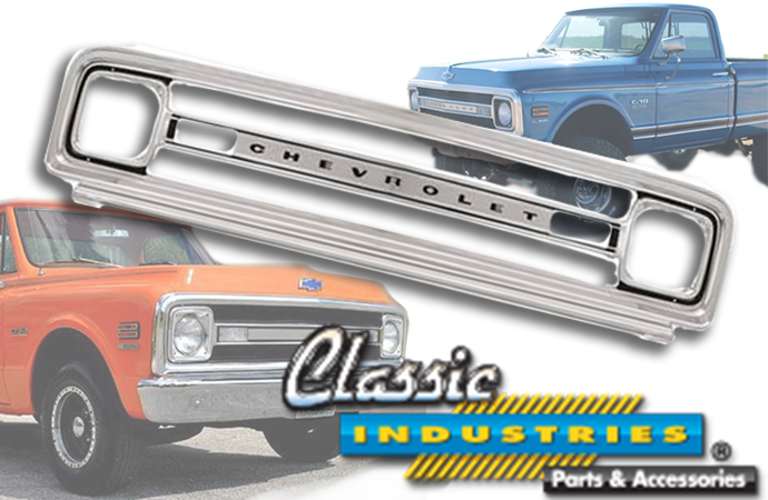 Classic Industries releases 1969-70 Chevy truck grill replica | ClassicCars