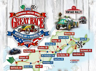 2018 Great Race to travel from Buffalo to Halifax