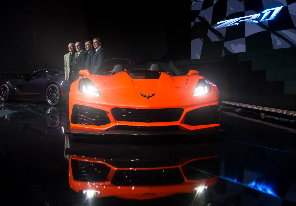 212mph Corvette ZR1 convertible revealed
