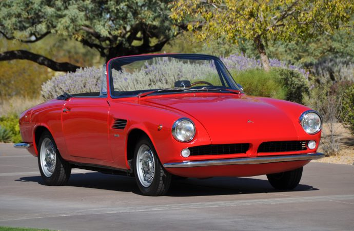 'Ferrarini' ASA Spider on Russo and Steele's Scottsdale docket