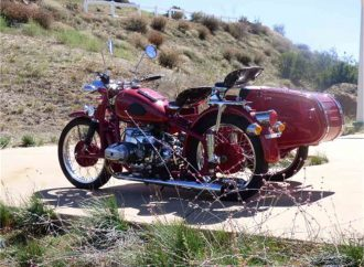 Three-wheelers are popular, but vintage bikes with sidecars are cool