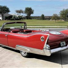Tall tail: 1960 Plymouth Fury convertible