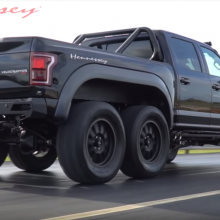 Why would anybody want a Hennessey F-150 VelociRaptor 6×6?