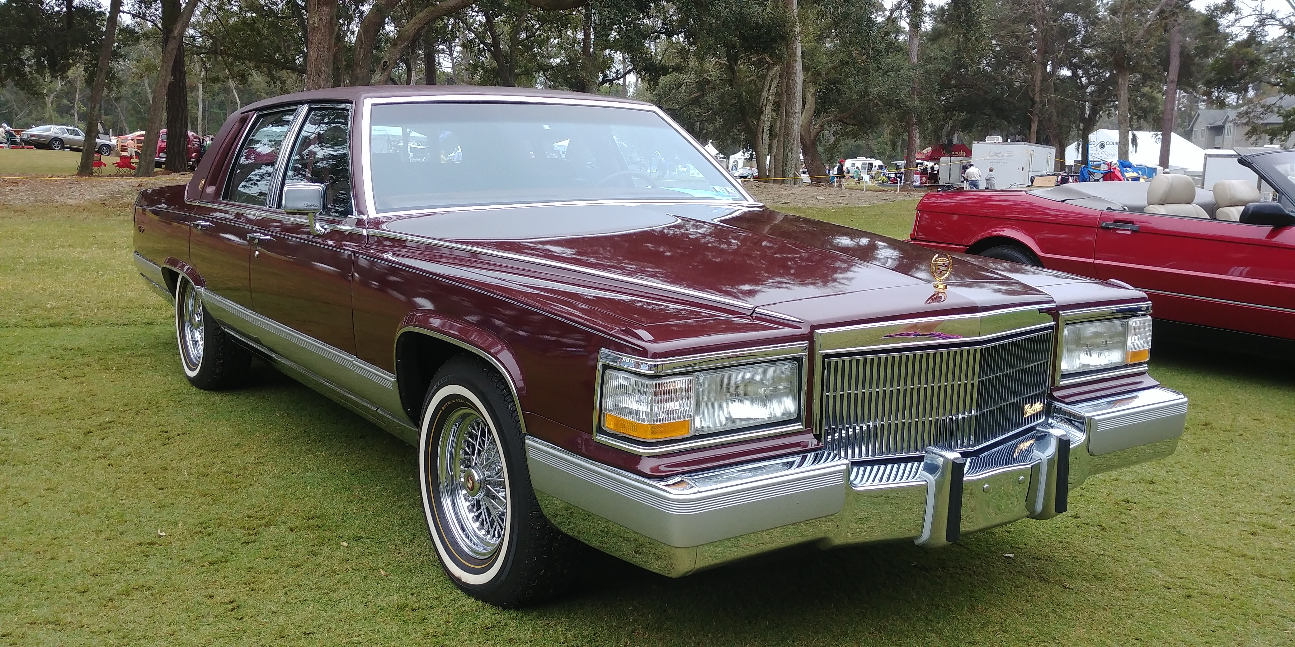 Hilton Head shows off a fine cache of Cadillacs ...