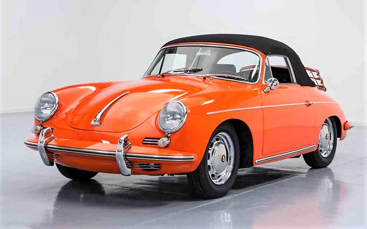 rare orange 1965 porsche 356 c cabriolet journal. Black Bedroom Furniture Sets. Home Design Ideas