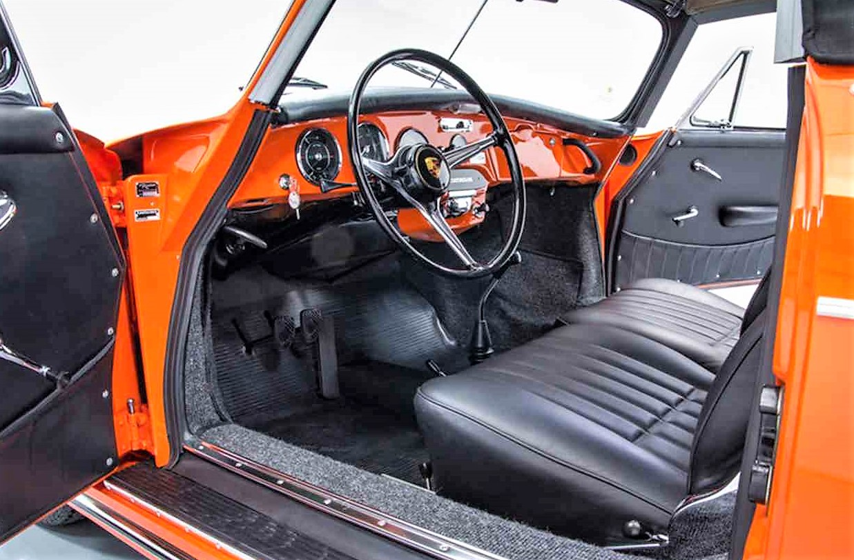 Rare orange 1965 Porsche 356 C Cabriolet | ClassicCars.com Journal