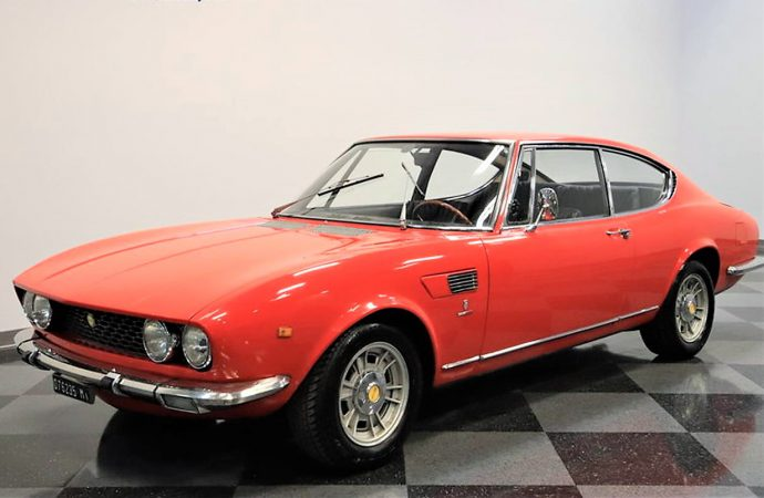 Value-packed 1967 Fiat Dino coupe