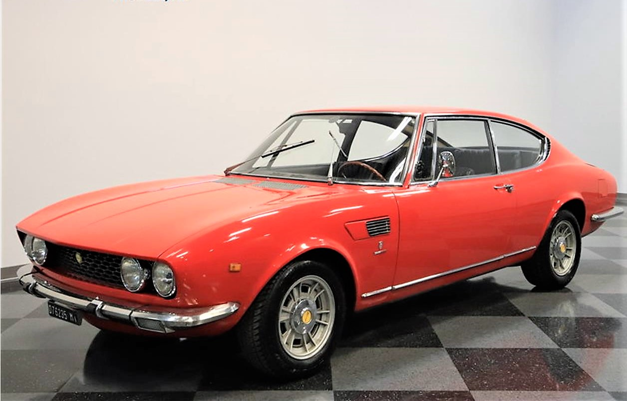 Value-packed 1967 Fiat Dino coupe - ClassicCars.com Journal