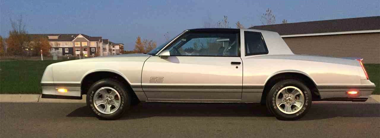 1988 Chevy Monte Carlo Is An Immaculate Low Mileage