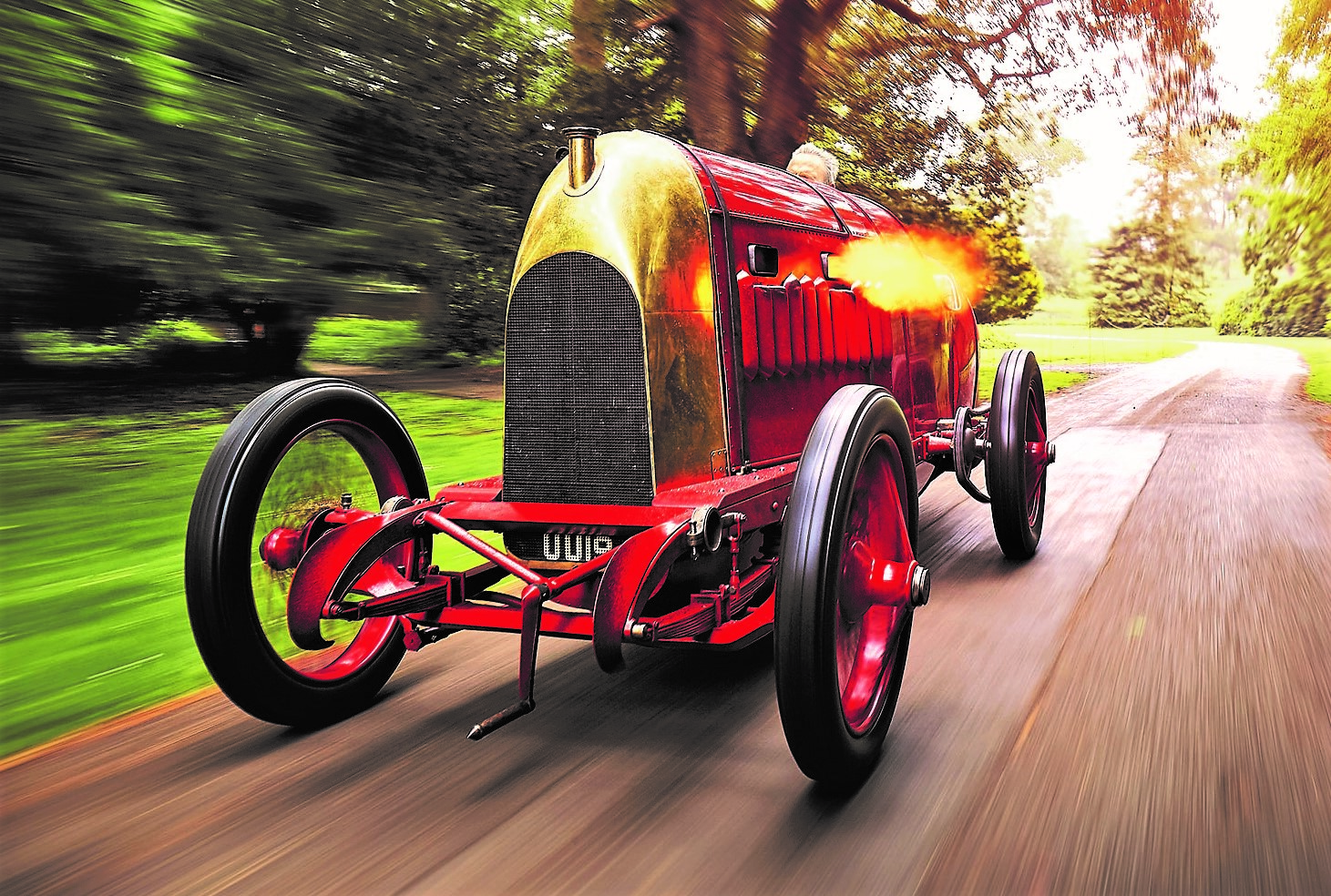 Beast of Turin: the flame throwing 1910 Fiat will be driven at London show