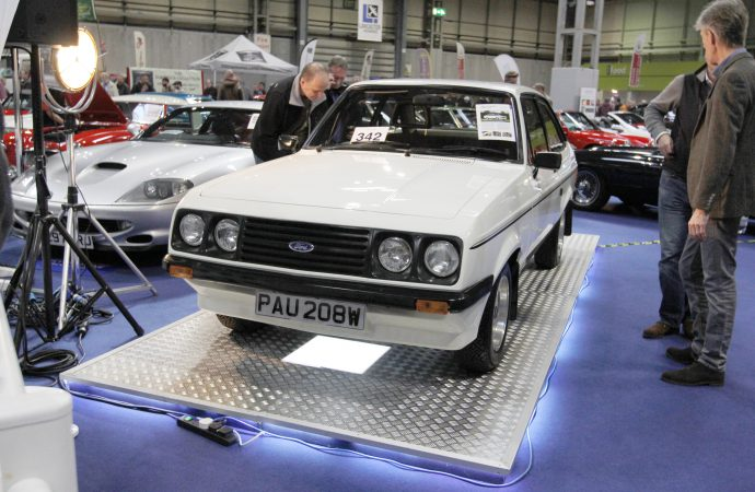 Rally-style Fords sell well at Silverstone auction
