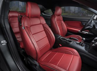 Katzkin offers leather seating to match classic Mopar muscle colors