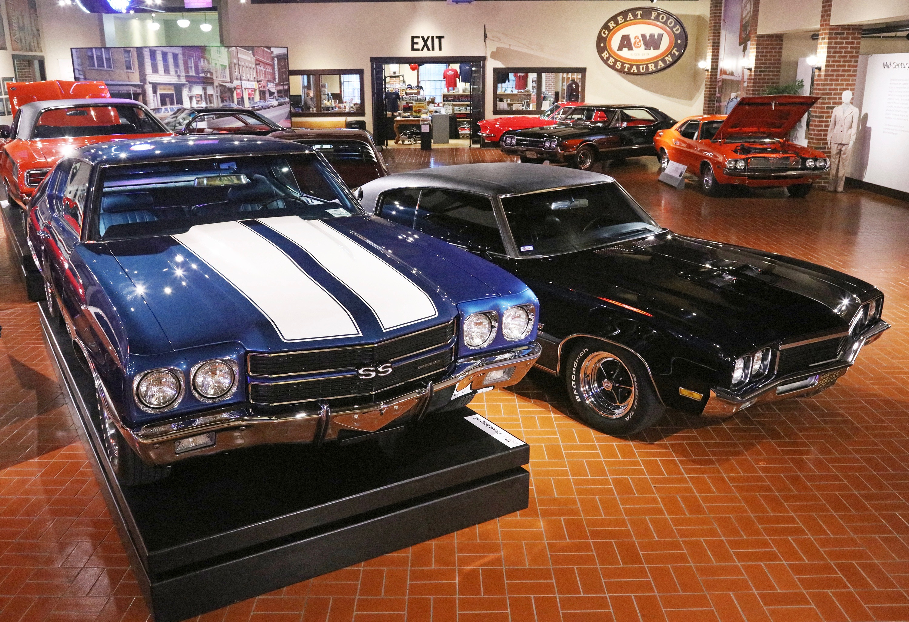 Muscle Cars Featured In At The Gilmore Museum ClassicCarscom - Antique car show hershey pa 2018