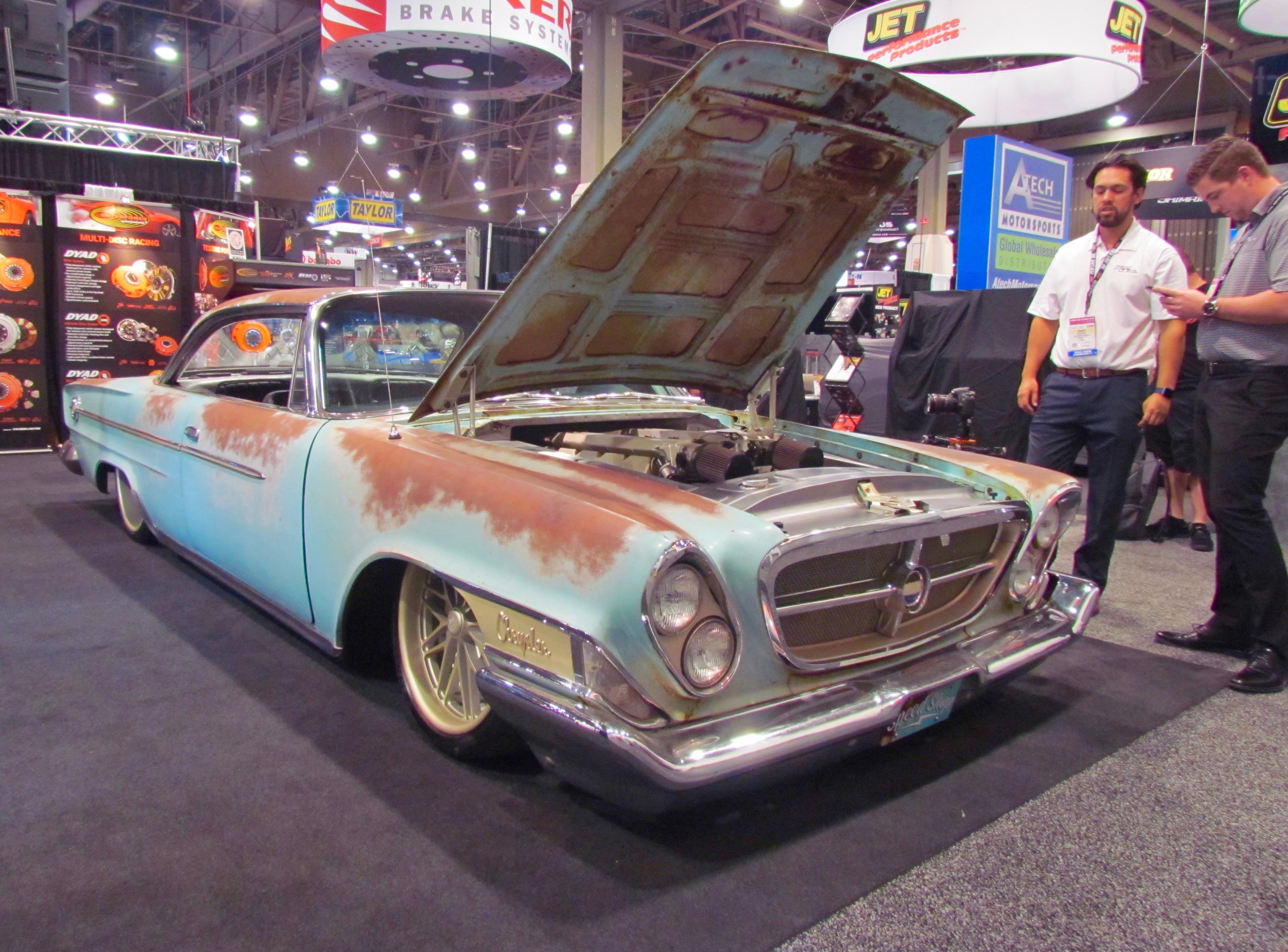 SEMA Seen Viperpowered Chrysler ClassicCarscom Journal - Chrysler shop