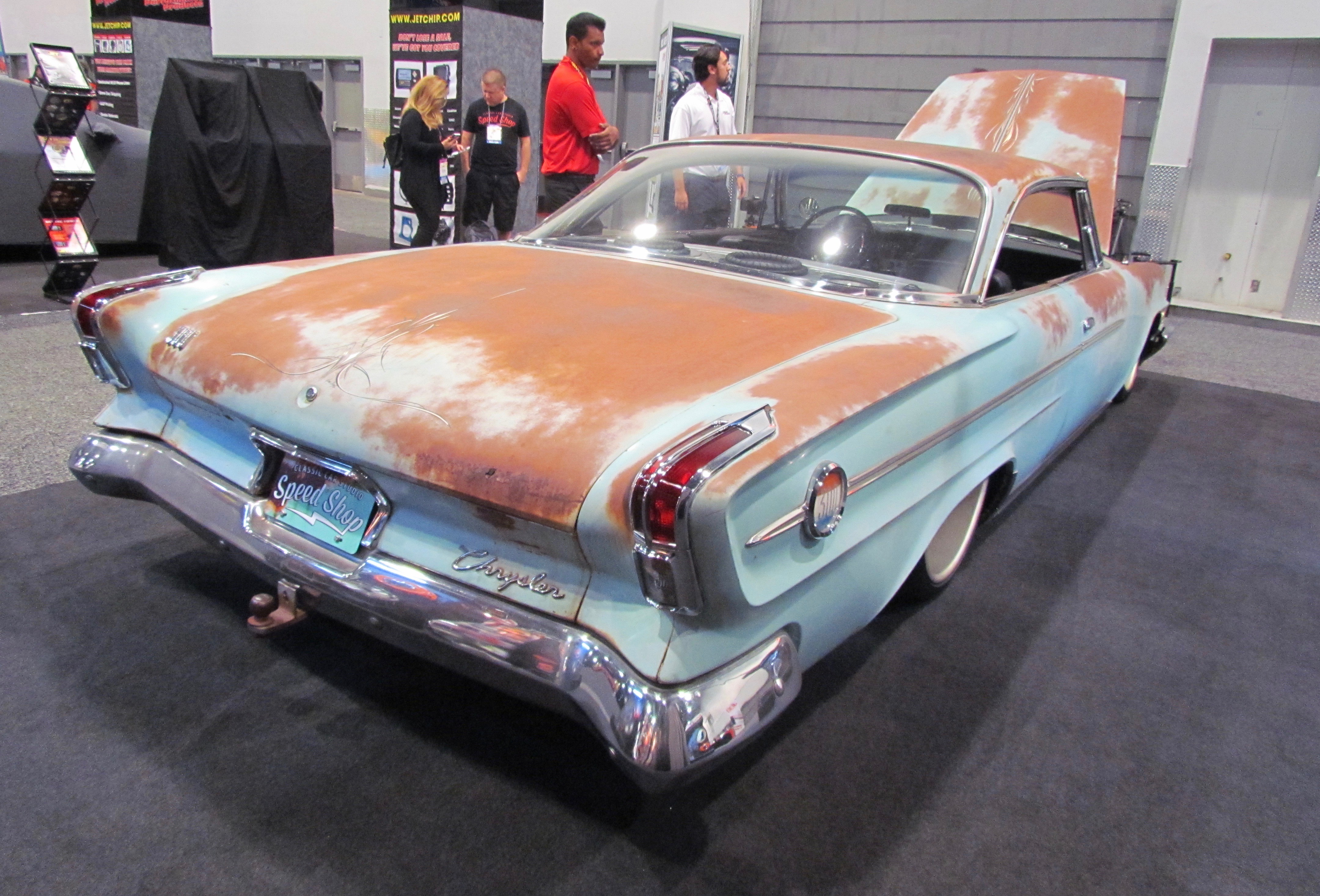 Custom Chrysler 300 >> SEMA Seen: Viper-powered 1962 Chrysler 300 - ClassicCars.com Journal