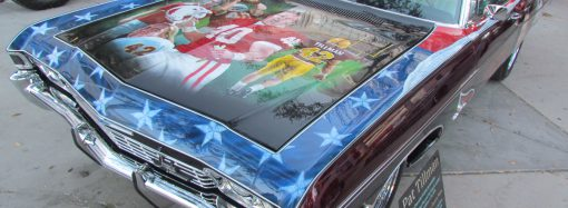 Tour of Duty: Pat Tillman's NFL rookie car will go to auction to help veterans