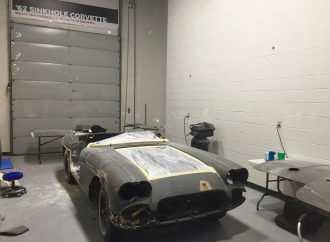 Corvette museum plans to complete last sinkhole car's restoration by fourth anniversary