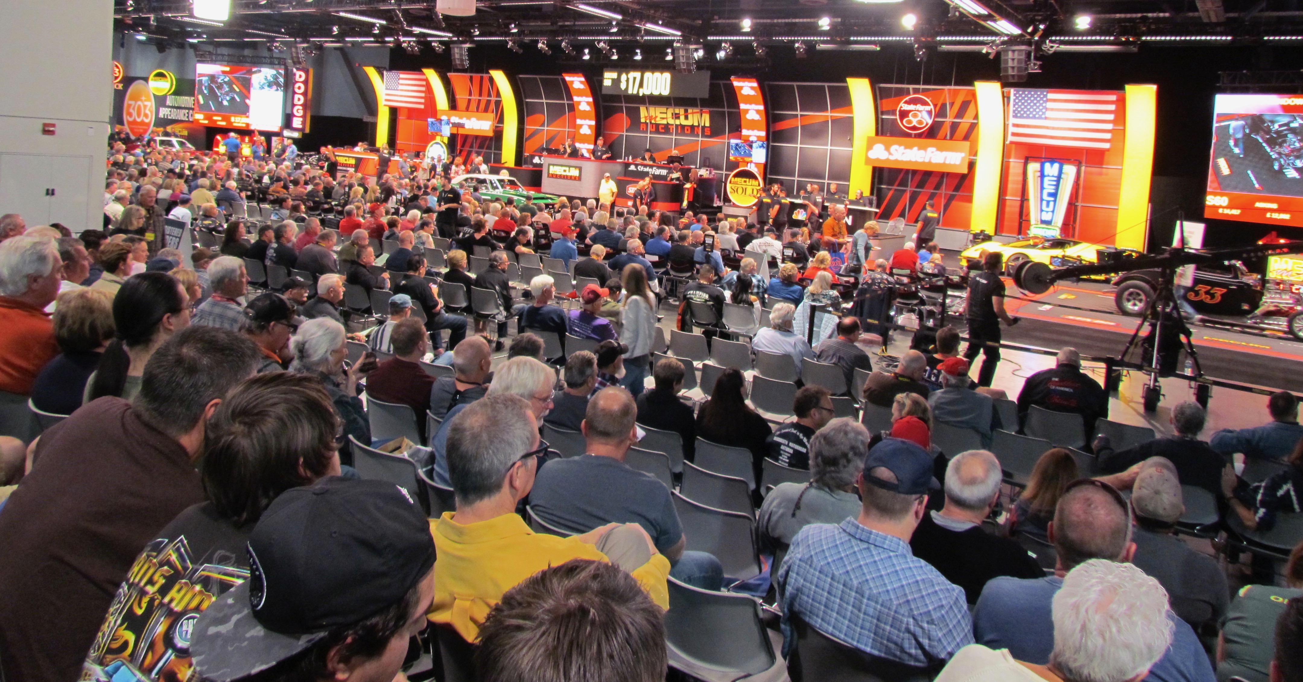 Mecum's Las Vegas auction sells 557 vehicles for $22 million | ClassicCars