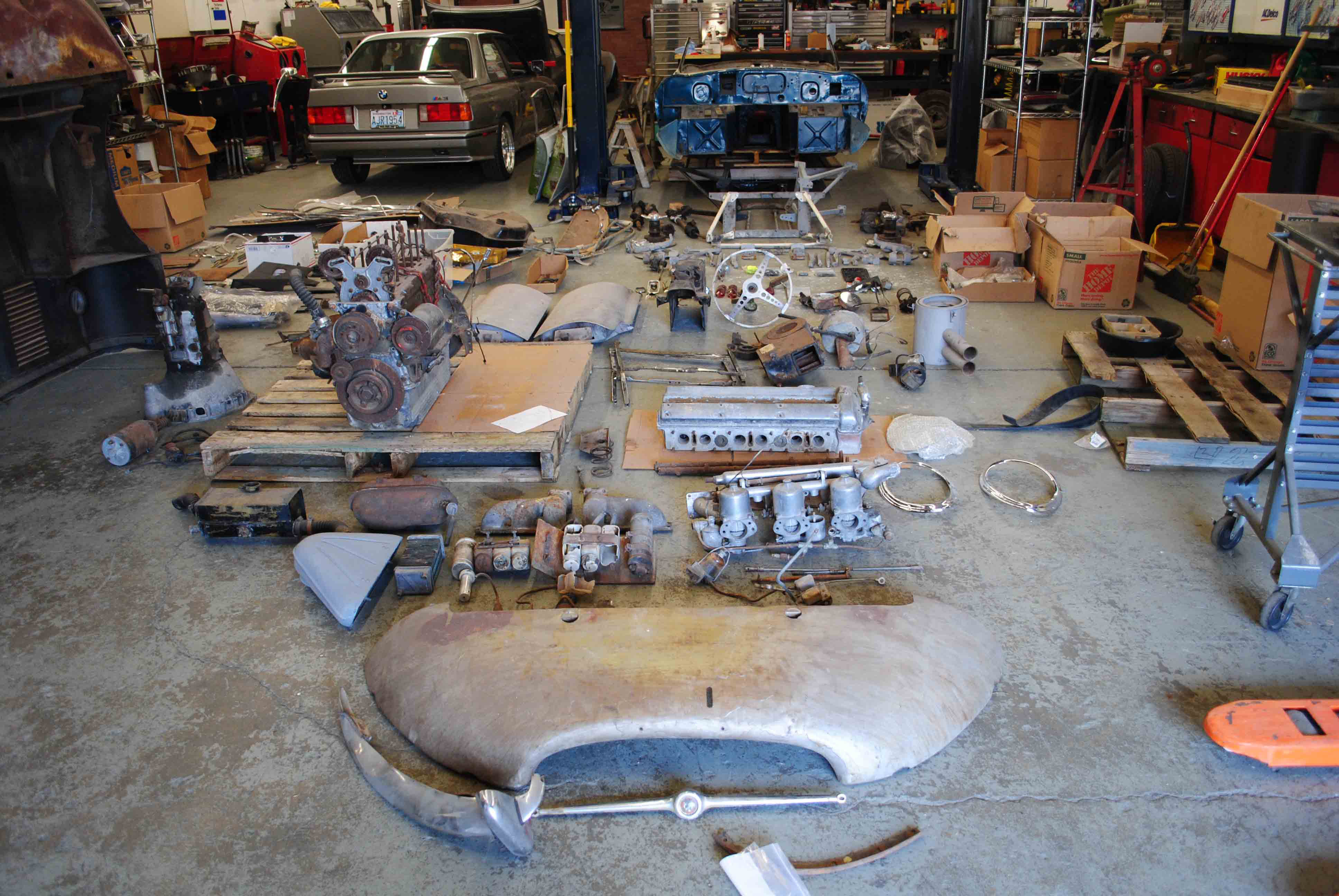 Barons has 1963 Jag E-type restoration project on docket | ClassicCars