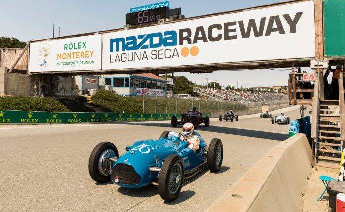 Laguna Seca Raceway marks 60 years