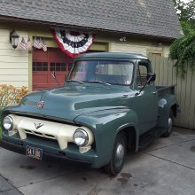 Abe's 1954 Ford F100