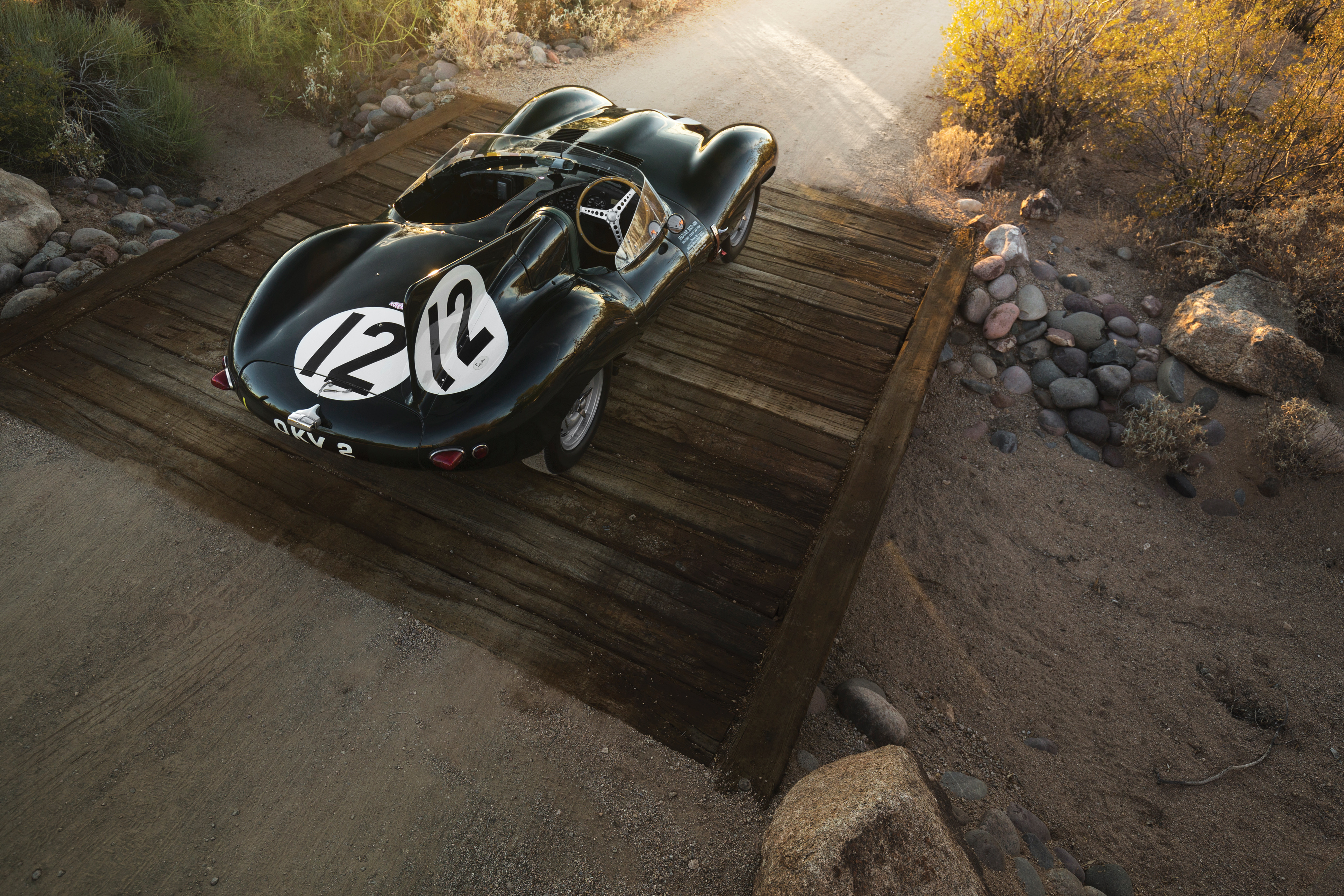 Ex-Moss 1954 Jaguar D-type announced for 2018 Sotheby's auction