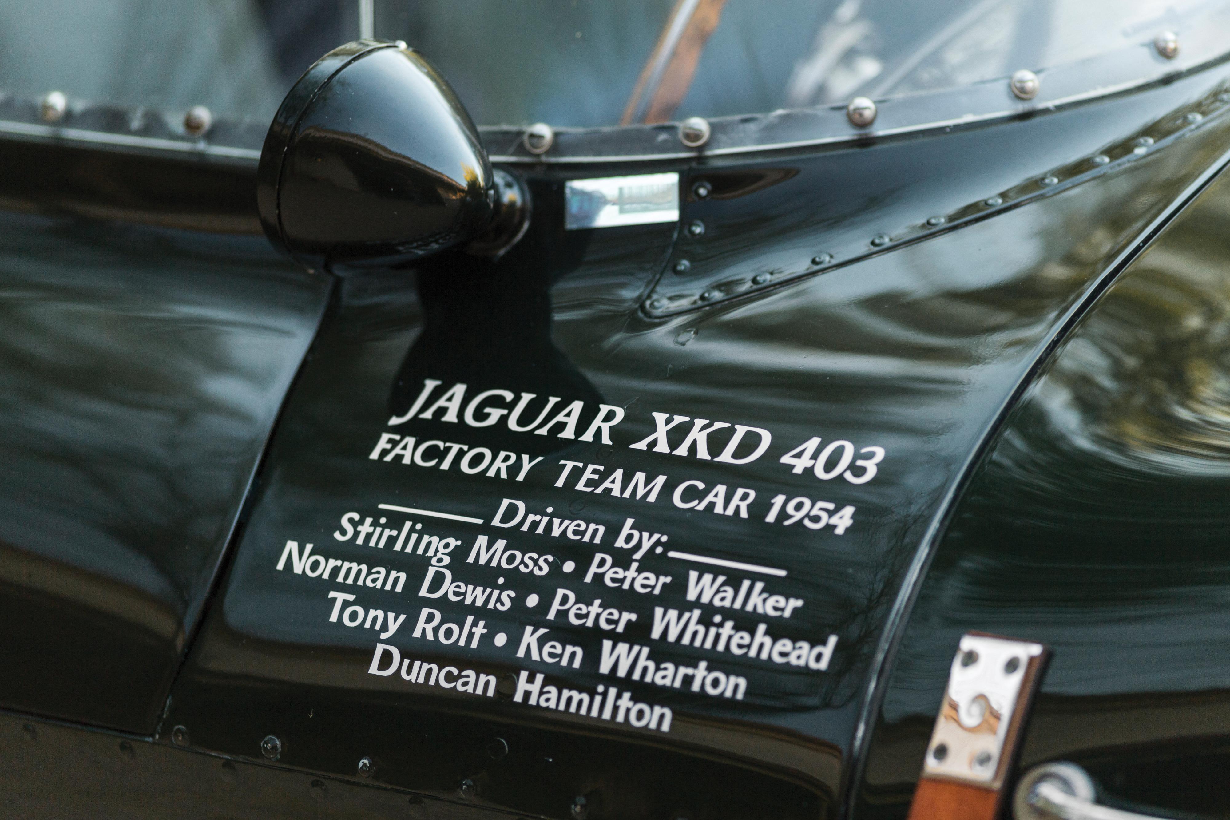 Ex-Moss 1954 Jaguar D-type announced for 2018 Sotheby's auction