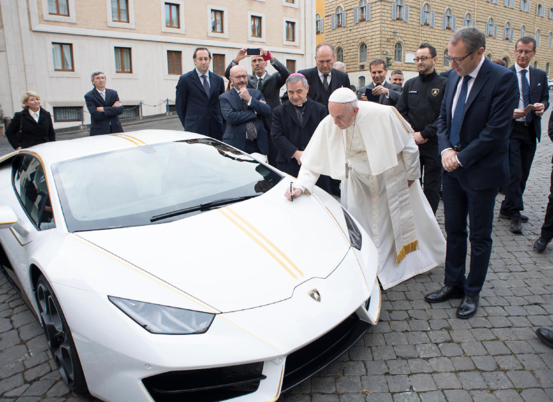 Lamborghini Huracan given to Pope for charity | ClassicCars.com Journal
